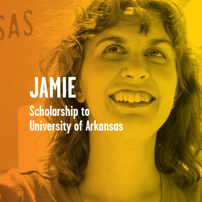 Scholarship Recipient Jamie Savell
