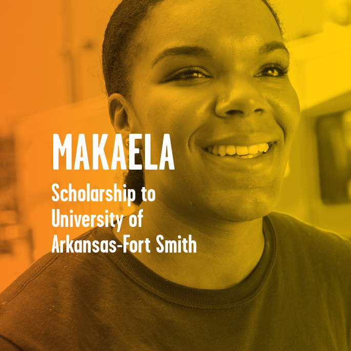 Scholarship Recipient Makaela Swinney