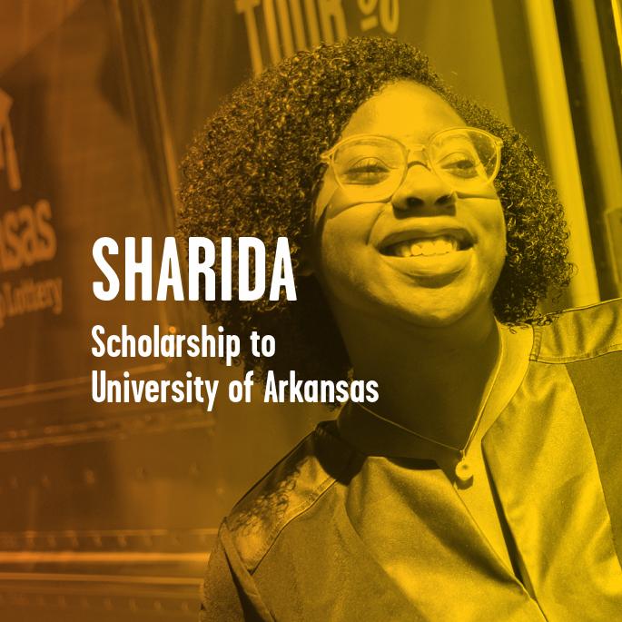 Scholarship Recipient Sharida Holloway