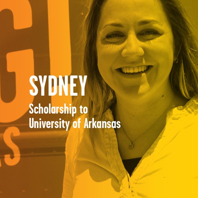 Scholarship Recipient Sydney Soster