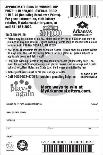 Show Me $100,000 - Game No. 617