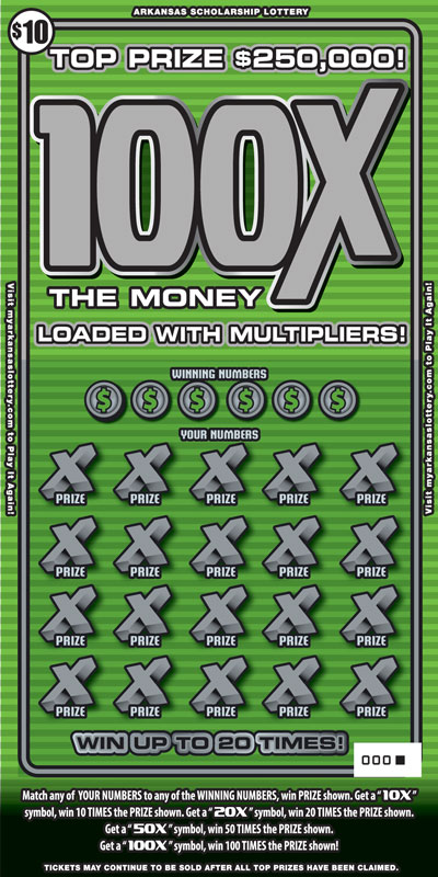 100X The Money - Front
