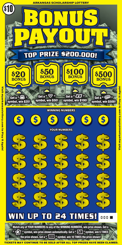 Bonus Payout - Game No. 443