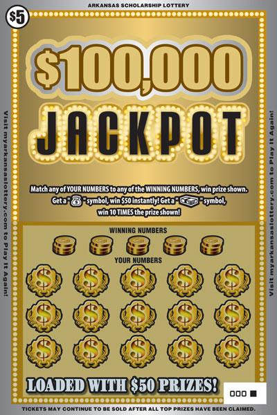 $100,000 Jackpot - Game No. 446