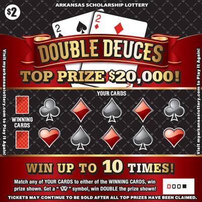 Double Deuces - Game No. 449 - Front