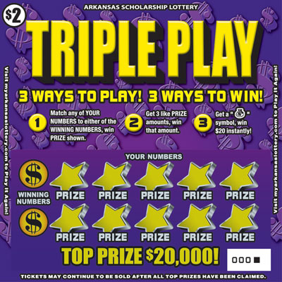 Triple Play - Game No. 463 - Front