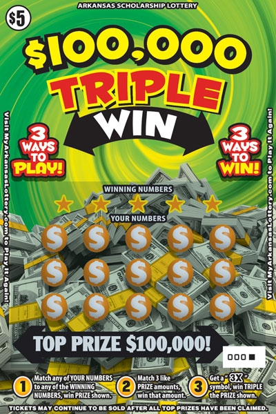 $100,000 Triple Win - Game No. 474