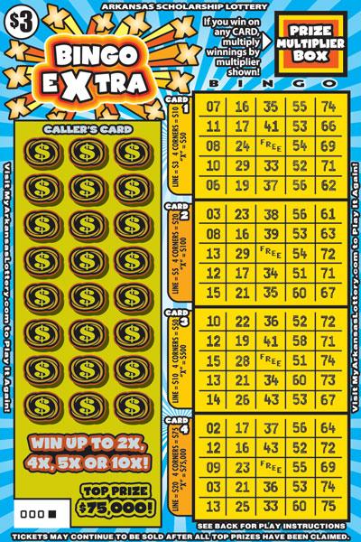 Bingo Extra - Game No. 477