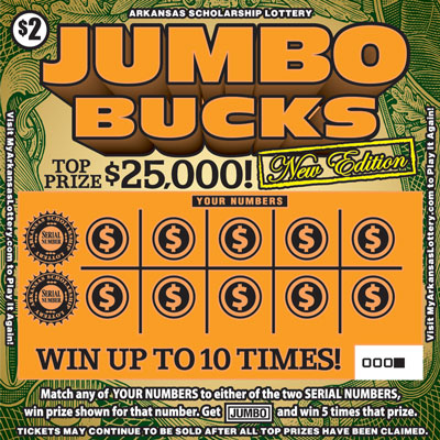 Jumbo Bucks - Game No. 486