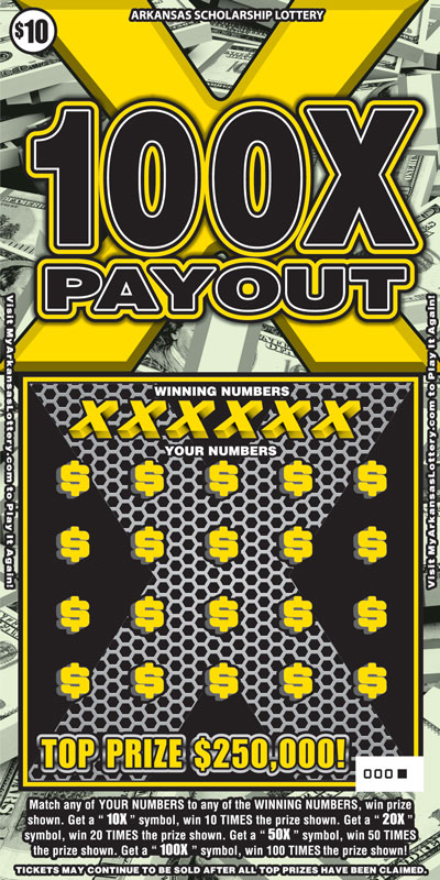 100X Payout - Game No. 493 - Front