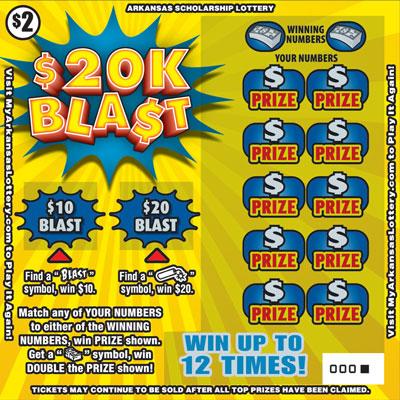 $20K Blast - Game No. 505