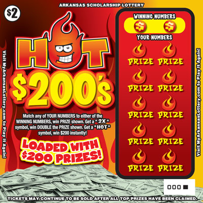 Hot $200's - Game No. 509