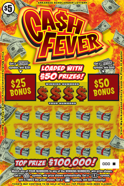 Ca$h Fever - Game No. 524 - Front