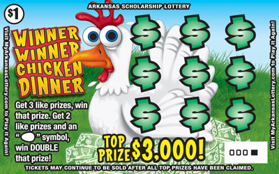Winner Winner Chicken Dinner - Game No. 526 - Front