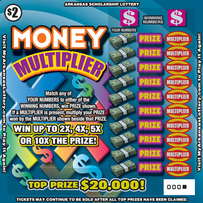 Money Multiplier - Game No. 527 - Front