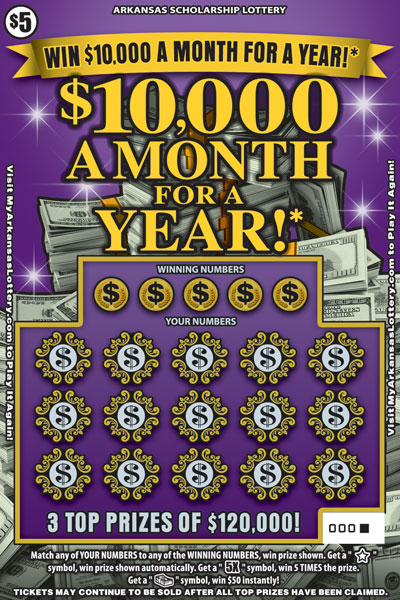 $10,000 a Month for a Year! - Game No. 559