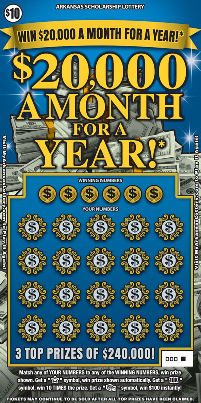 $20,000 a Month for a Year! - Game No. 560