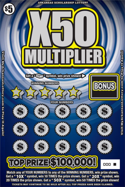 X50 Multiplier - Game No. 572