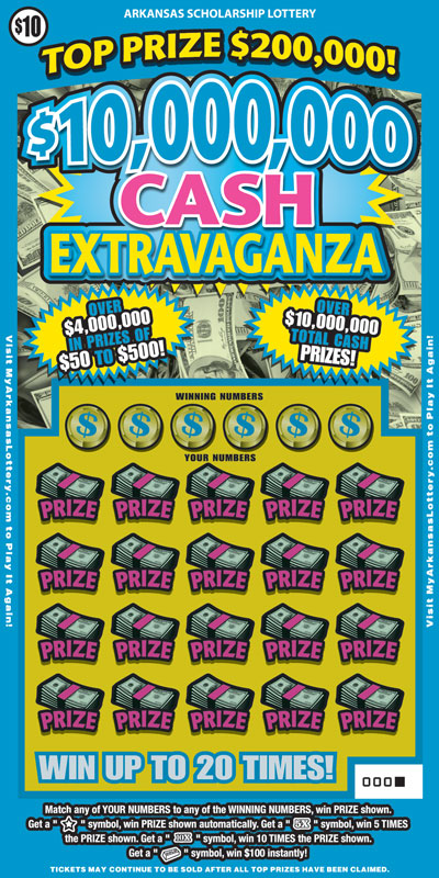 $10,000,000 Cash Extravaganza - Game No. 583