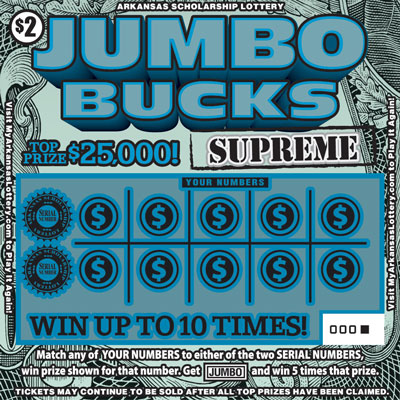 Jumbo Bucks Supreme - Game No. 600