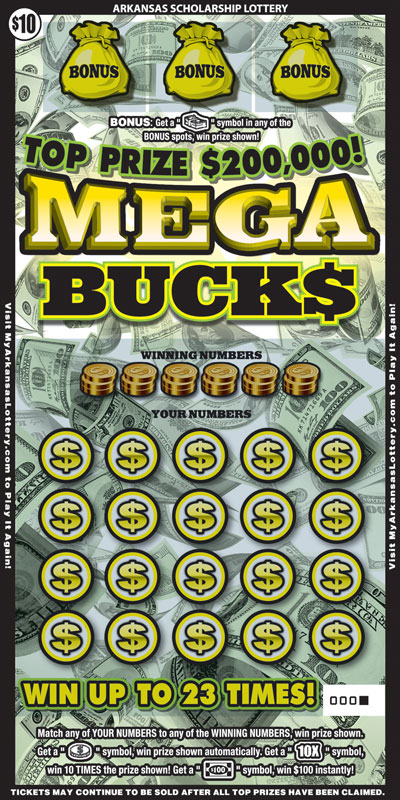 Mega Buck$ - Game No. 613