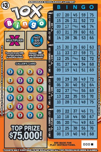 10X Bingo - Game No. 635