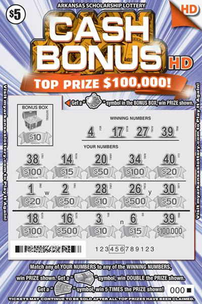 Cash Bonus HD - Game No. 456