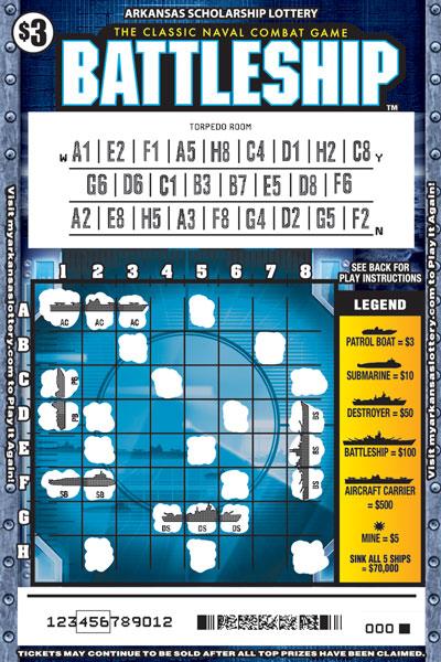 BATTLESHIP™ - Game No. 464 - Uncovered