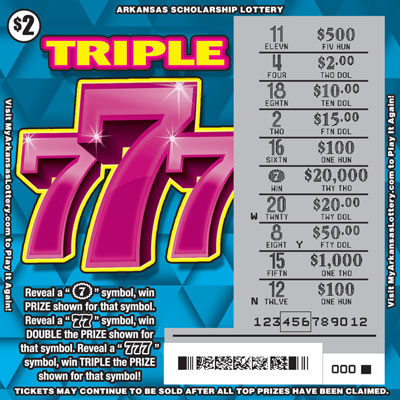 Triple 777 - Game No. 496