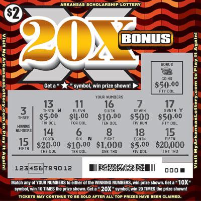 20X Bonus - Game No. 514