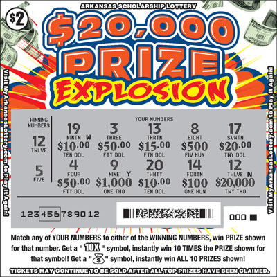 $20,000 Prize Explosion - Game No. 523 - Uncovered