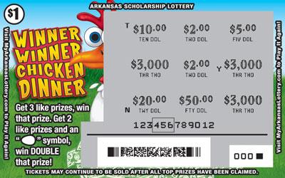 Winner Winner Chicken Dinner - Game No. 526 - Uncovered