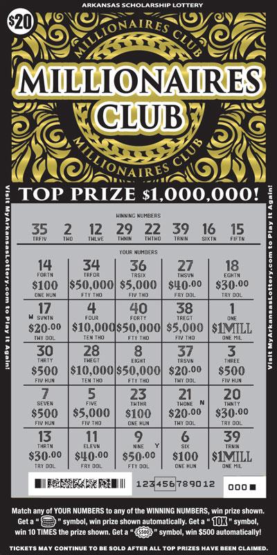 Millionaires Club - Game No. 535