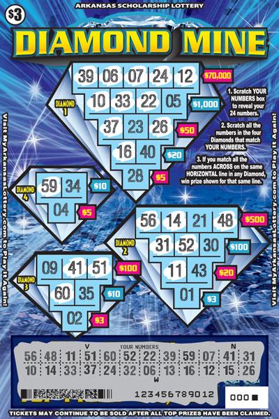 Diamond Mine - Game No. 553 - Uncovered