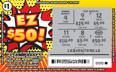 EZ $50! - Game No. 565