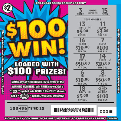 $100 Win! - Game No. 566