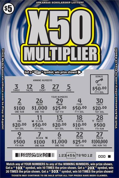 X50 Multiplier - Game No. 572