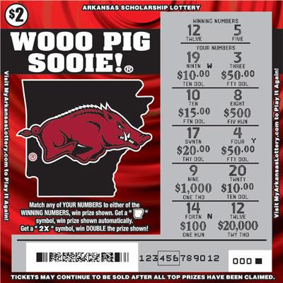 Wooo Pig Sooie!® - Game No. 576
