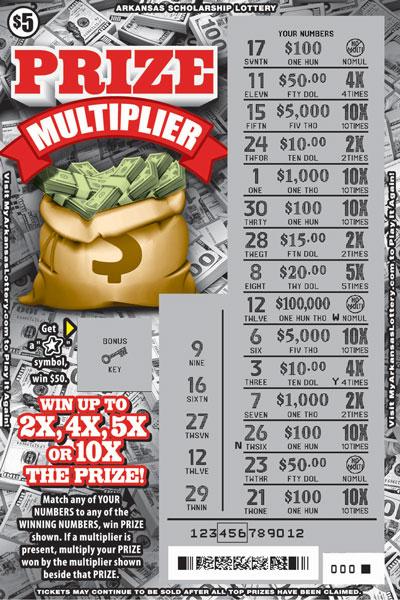 Prize Multiplier - Game No. 591