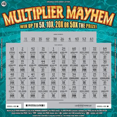 Multiplier Mayhem - Game No. 614