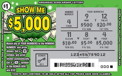 Show Me $5,000 - Game No. 615
