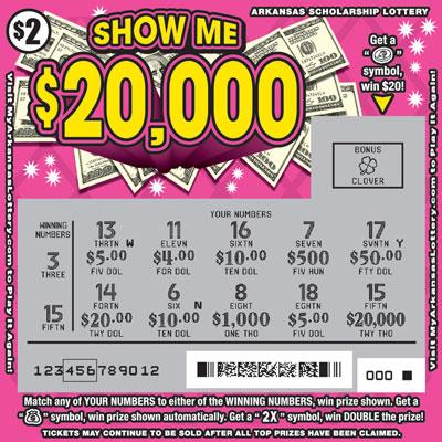 Show Me $20,000 - Game No. 616