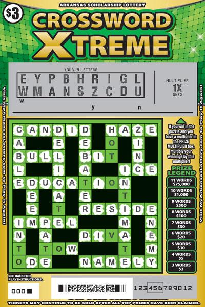 Crossword Xtreme - Game No. 625